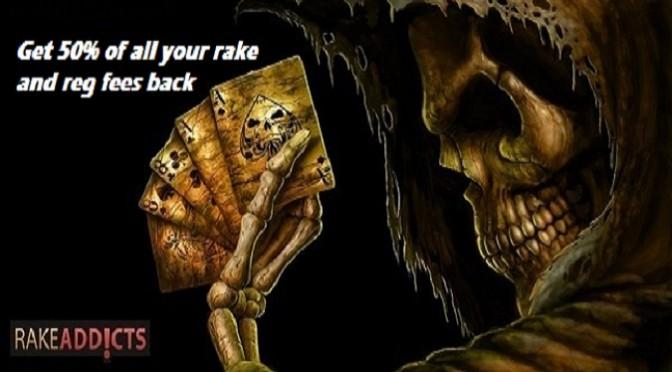 Rake & Rakeback explained for Online Poker.